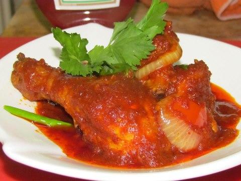 Kalori Ayam Masak Merah