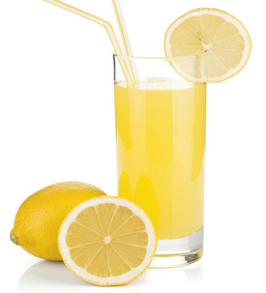 kalori air lemon