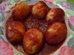 Kalori Sambal Telur Rebus