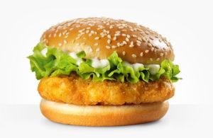 Kalori Burger McD McChicken
