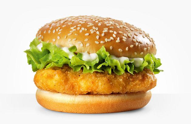 kalori burger mcchicken